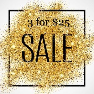Other - MOVING SALE! Any 3 Items $25 or less for $25!